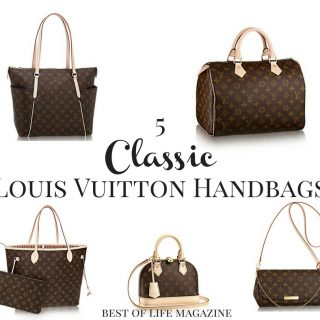 Classic Louis Vuitton bags can not only stand the test of time but make a mark on every season with a style that is all your own. What is Louis Vuitton | What Are Classic Louis Vuitton | How to Style Handbags | How to Use Handbags | Fashion Ideas