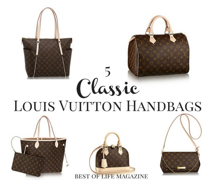 Classic Louis Vuitton bags can not only stand the test of time but make a mark on every season with ease, and that makes them a must-have.