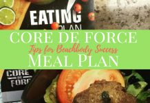 The Core de Force meal plan is designed to get you back into shape; you just need to know how to hack through it to make it work for you.