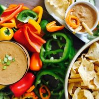 Crockpot black bean dip recipe comes together in minutes, making this the perfect side or topping for salads and tacos.