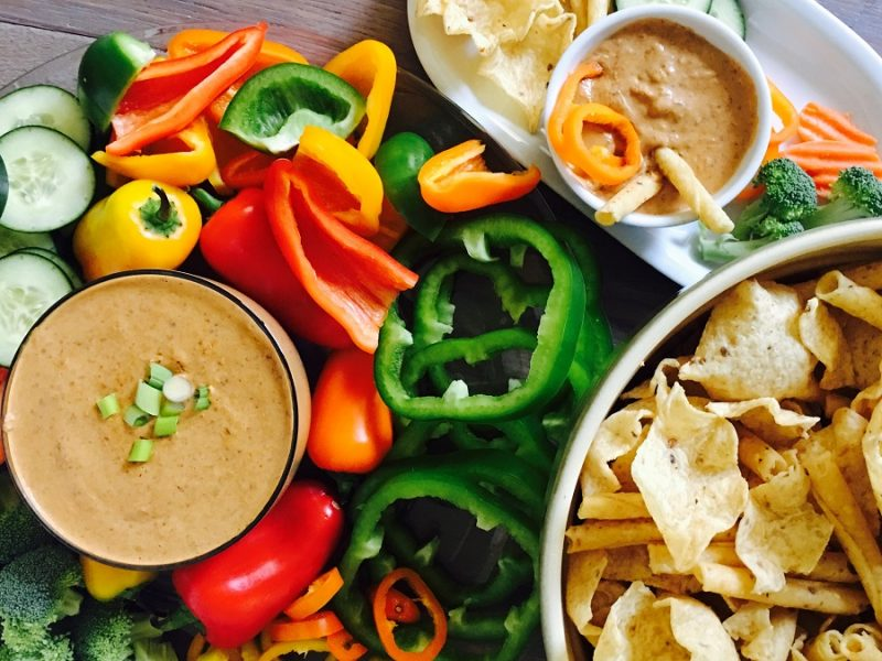 This crockpot black bean dip recipe comes together in minutes with only two ingredients making the perfect side or topping for salads and tacos.