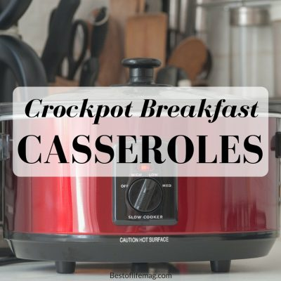 A crockpot breakfast casserole is the perfect time-saving addition to your morning! You don't have to skip out on breakfast due to being short on time! Breakfast Casserole with Biscuits | Vegetarian Crockpot Breakfast Casseroles | French Toast Crockpot Breakfast Casseroles | Grits Breakfast Casseroles | Breakfast Casseroles No Hash Browns