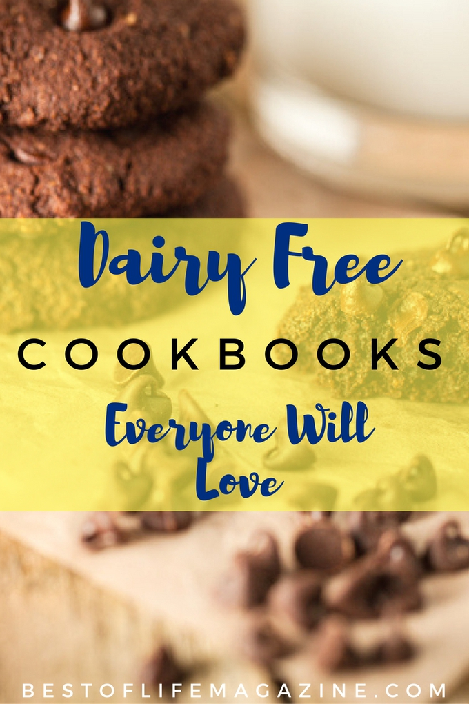 These dairy free cookbooks offer so many delicious dairy free recipes that are perfect for babies, toddlers, families, and adults. Dairy Free Recipes | Dairy Free Ideas | Recipes for Food Allergies | Food Allergy Cookbooks | Tips for Dairy Free Living #dairyfree #recipes