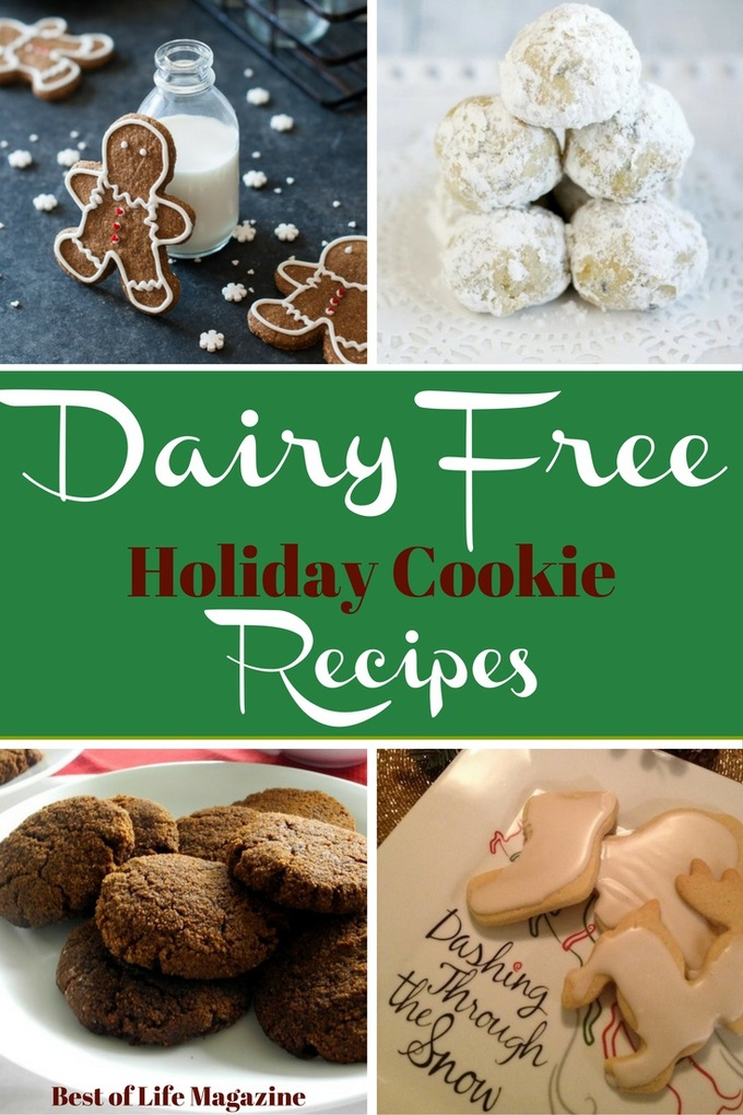 It's easy to fill your home with the scent of fresh deliciousness with some dairy free holiday cookies and enjoy the holiday season.