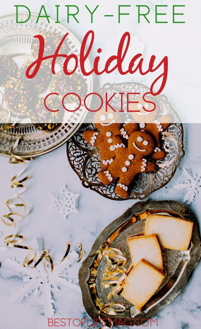 It's easy to fill your home with the scent of fresh deliciousness with some dairy free holiday cookies and enjoy the holiday season. Sugar Cookies Recipes | Christmas Cookie Recipes | Hanukkah Cookie Recipes | Cookies for New Years | Cookies for Parties | Chocolate Chip Cookies Recipes #cookies #holidays