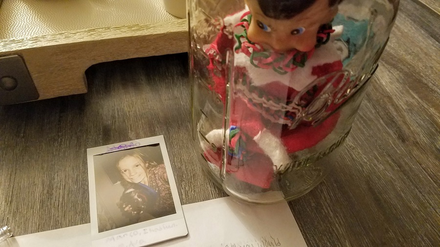 Letting your child spend a day with Elf on the Shelf in a jar will easily become the most memorable Elf on the Shelf idea ever.