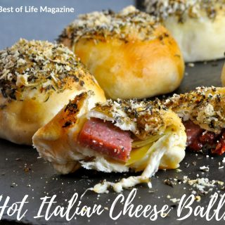 With this holiday hack you can make two recipes with one ingredient. Make Hot Italian Cheese Balls for dinner and a breakfast frittata the following morning.