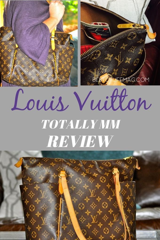 This Louis Vuitton Totally MM review will help everyone determine if this classic and stylish LV handbag is right for them. (P.S. It definitely is!) Beauty Tips | Fashion Tips | Handbags for Work | Luxury Fashion | Style Tips | Louis Vuitton Review #louisvuitton