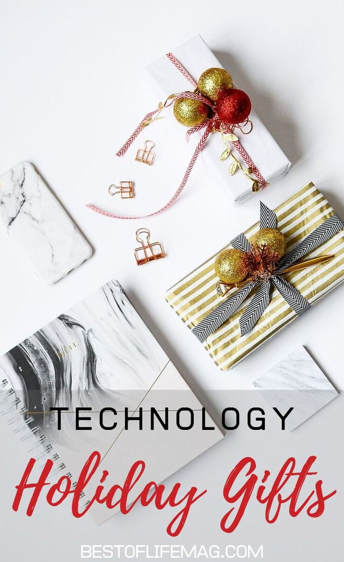 Technology gifts can impress and make life easier all year long! These top tech gift ideas for the holiday season are also great for all ages. Gift Ideas | Gift Guide | Technology Gifts for Everyone | Technology Gifts for Men | Technology Gifts for Women | Christmas Gift Ideas | Holiday Gift Ideas #gifts #tech