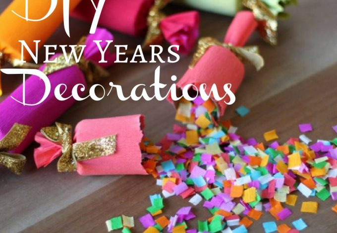 DIY New Years decorations help give the night the attention it calls for with ease. Don't let New Years Eve go without any DIY.