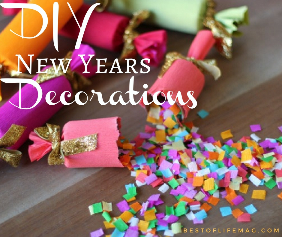 DIY New Years Decorations to Ring in The New Year - Best ...