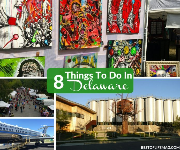 These are 8 things to do in Delaware that will be fun for anyone! Take the family or head out for a fun weekend getaway.