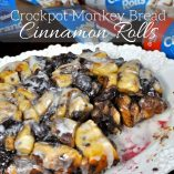 It's not necessary to sacrifice family time to make a delicious dessert everyone will love. Crockpot monkey bread cinnamon rolls are the perfect dessert! Crockpot Monkey Bread Frozen Bread Dough | Slow Cooker Monkey Bread | Monkey Bread Crock | Slow Cooker Cinnamon Rolls | Slow Cooker Apple Monkey Bread | Pillsbury Monkey Bread