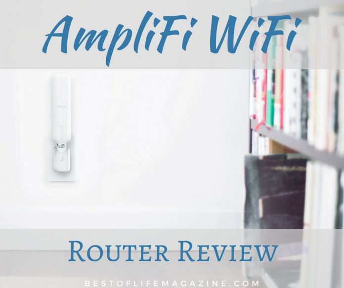 AmpliFi WiFi Routers help spread the WiFi signal throughout every room in your home to help all devices access the internet with ease.