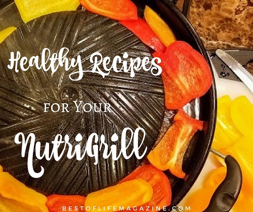 Plenty of NutriGrill recipe ideas can help you utilize your fantastic new kitchen appliance to live a healthier lifestyle.