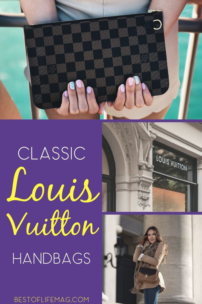 Classic Louis Vuitton bags can not only stand the test of time but make a mark on every season with a style that is all your own. Fashion Ideas | Style Ideas | Fashion Tips | Style Tips | Fashion Accessories | Handbags #handbags #fashion
