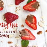 The best gift you can get is a homemade gift from the heart, and for some of us, that means dairy free Valentines Day sweets are the best way to our hearts. Recipes for Valentine's Day | What to Make for Valentine's Day | Valentine's Day Dessert Recipes | Dairy Free Recipes