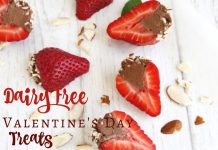 The best gift you can get is a homemade gift from the heart, and for some of us, that means dairy free Valentines Day sweets are the best way to our hearts.