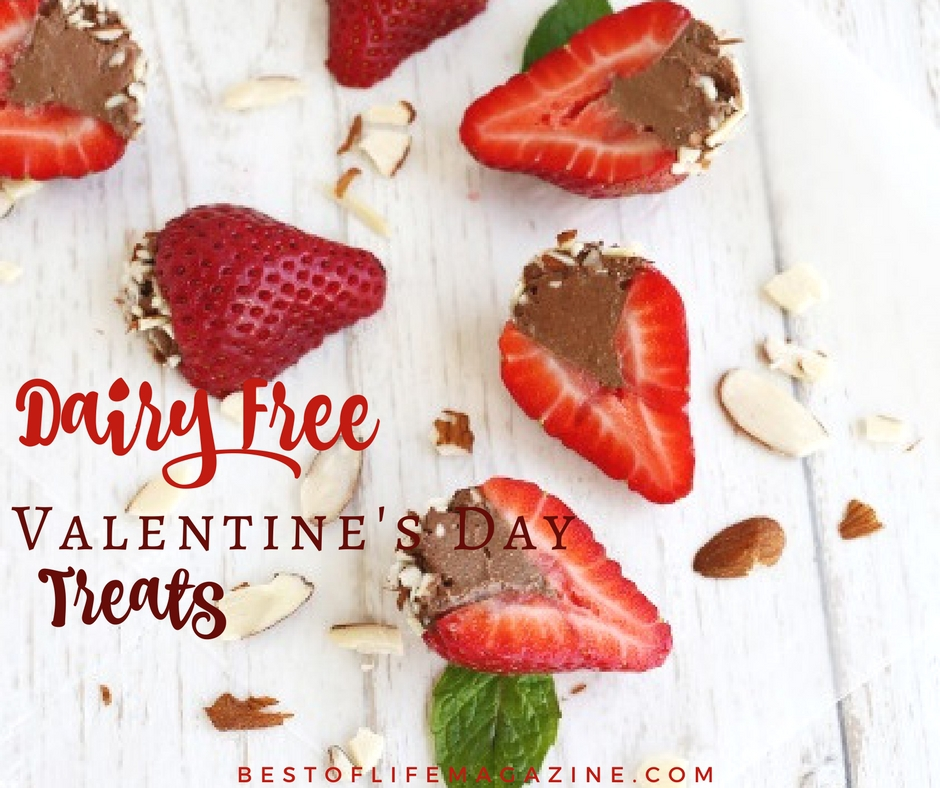 Dairy Free Valentines Day Treats