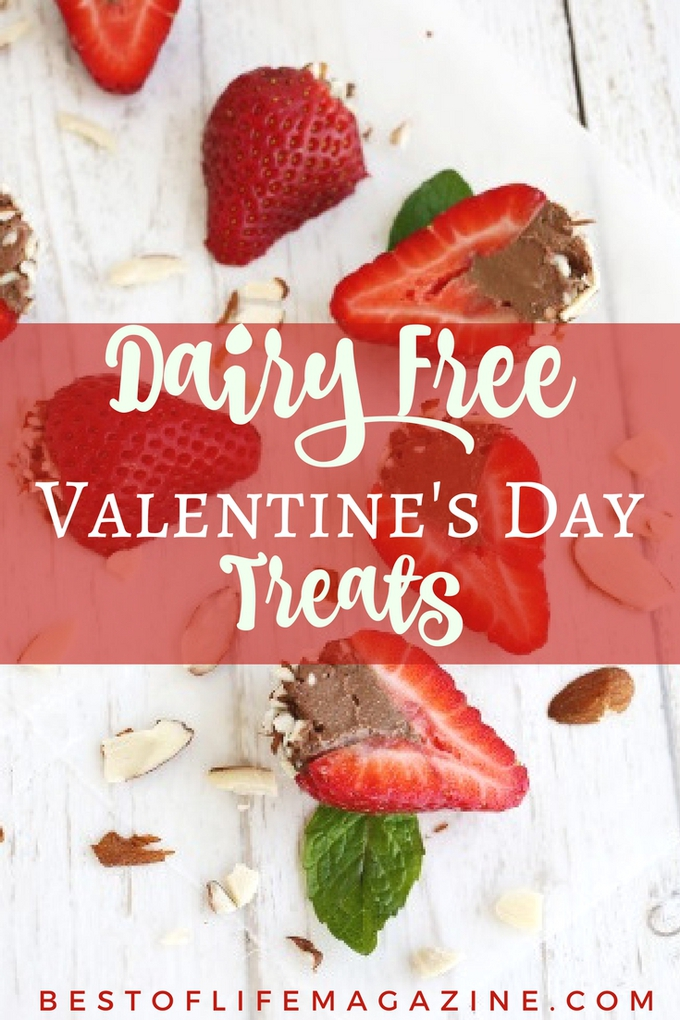 The best gift you can get is a homemade gift from the heart, and for some of us, that means dairy free Valentines Day sweets are the best way to our hearts. Dairy Free Dessert Recipes | Dairy Free Treats | Valenitne's Day Recipes | Dairy Free Valentine's Day Recipes | Healthy Valentine's Day Recipes #valentinesday #recipes via @amybarseghian