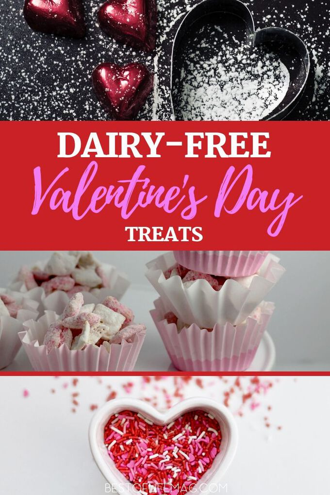 The best gift you can get is a homemade gift from the heart, and for some of us, that means dairy free Valentines Day sweets are the best way to our hearts. Dairy Free Dessert Recipes | Dairy Free Treats | Valenitne's Day Recipes | Dairy Free Valentine's Day Recipes | Healthy Valentine's Day Recipes #valentinesday #recipes