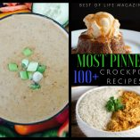 The most pinned crockpot recipes are the best recipes that can help you save time, eat healthy, and eat delicious meals while saving time with meal planning and preparation. Slow Cooker Breakfast Recipes | Slow Cooker Dessert Recipes | Slow Cooker Soup Recipes | Slow Cooker Chili Recipes | Healthy Slow Cooker Meals | Easy Slow Cooker Meals
