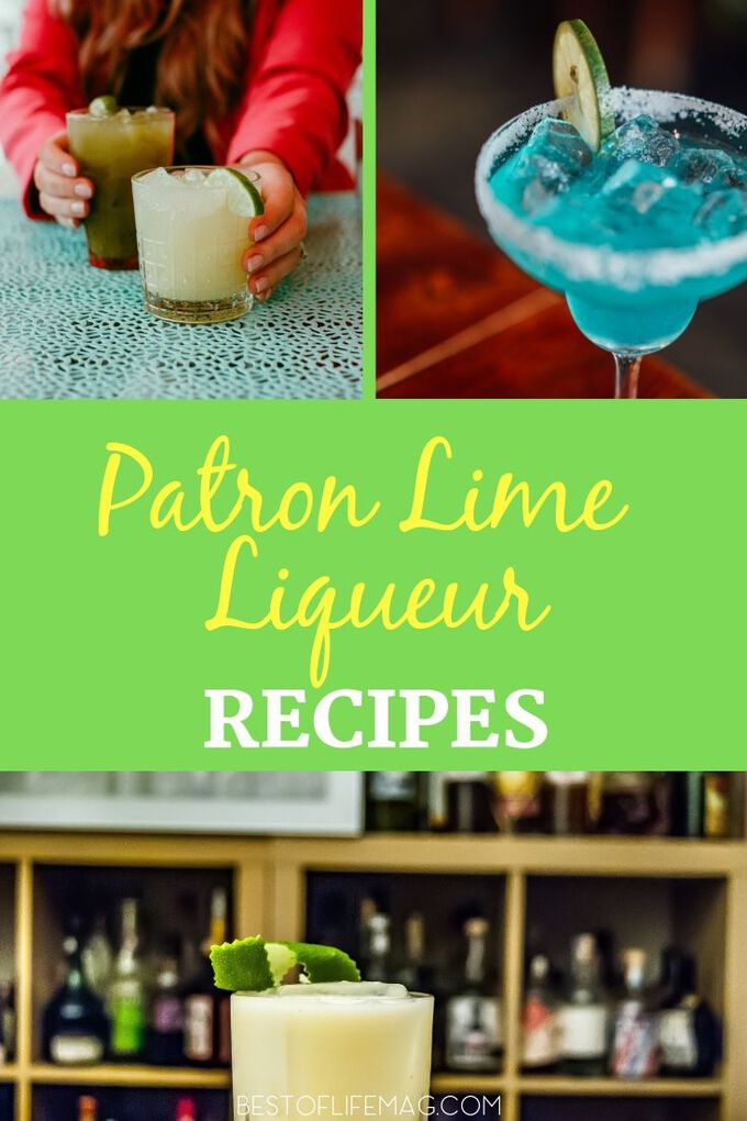 Use Patron Lime Liqueur recipes from sweet to sour and everything in between, and find new ways to add liqueur to your cocktails. Tequila Cocktail Recipes | Cocktail Recipes with Tequila | Patron Cocktails | Patron Margaritas | Happy Hour Recipes | Margarita Recipes #cocktails #tequila