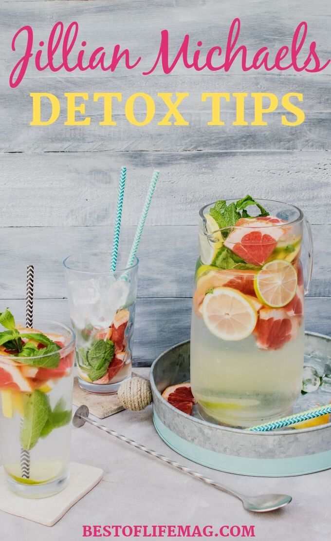 Use Jillian Michaels Detox tips to get back on track and jump start your diet plan to get the best results and lose weight. How to Detox | Tips for Detoxing | Tips for Weight Loss | Weight Loss Tips | Detox Tips | Jillian Michaels Weight Loss | Tips for Jillian Michaels | Health Tips | Tips for Healthy Living #detox #jillianmichaels