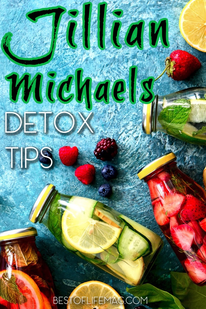 Use Jillian Michaels Detox tips to get back on track and jump start your diet plan to get the best results and feel accomplished. Detox and Womens Health Tips | Health Tips for Women | Tips for Detoxing | Detox Cleanse Ideas | Weight Loss Tips | Jillian Michaels Recipes | Weight Loss Drinks #weightloss #detox