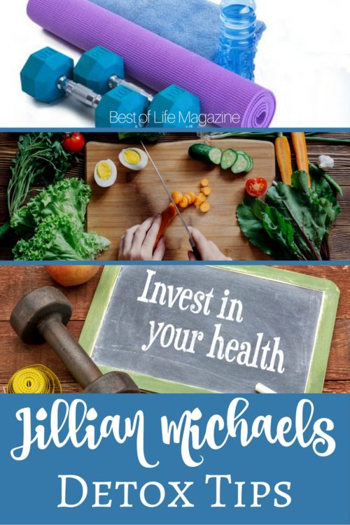 Use Jillian Michaels Detox tips to get back on track and jump start your diet plan to get the best results and feel accomplished.