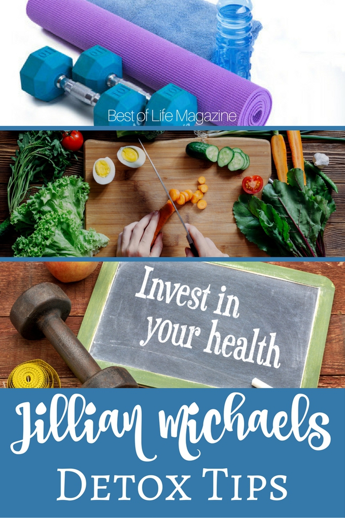 Use Jillian Michaels Detox tips to get back on track and jump start your diet plan to get the best results and lose weight. How to Detox | Tips for Detoxing | Tips for Weight Loss | Weight Loss Tips | Detox Tips | Jillian Michaels Weight Loss | Tips for Jillian Michaels | Health Tips | Tips for Healthy Living #detox #jillianmichaels via @amybarseghian