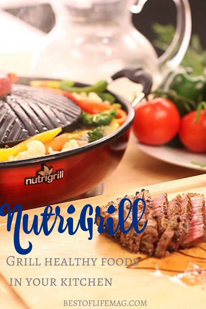 NutriGrill recipe ideas can help you utilize your fantastic new kitchen appliance to live a healthier lifestyle.