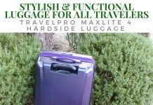 As frequent travelers, we were very specific in what we needed in our new luggage, and the Travelpro Maxlite 4 Hardside Collection delivered.