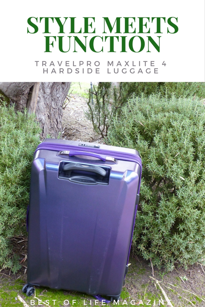 The Travelpro Maxlite 4 Hardside Collection delivers a wide array of features that travelers will appreciate because they make trips easier and hold up to the abuse luggage receives on each trip. Travel Tips | Travel Ideas | How to Pack for Travel | Luggage Tips | Suitcase Ideas #travel #tips