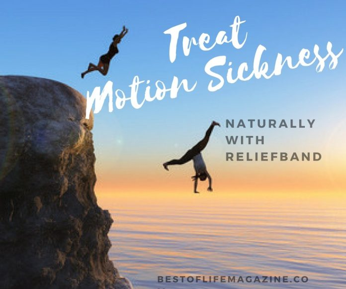 Now it's easier than ever to treat motion sickness without medicine with Reliefband! The ability to do what you want without worrying is liberating!