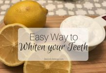 It can be tricky to figure out what works or how to whiten your teeth but this method is simple, just 2 ingredients! Instant results after just 2 minutes!