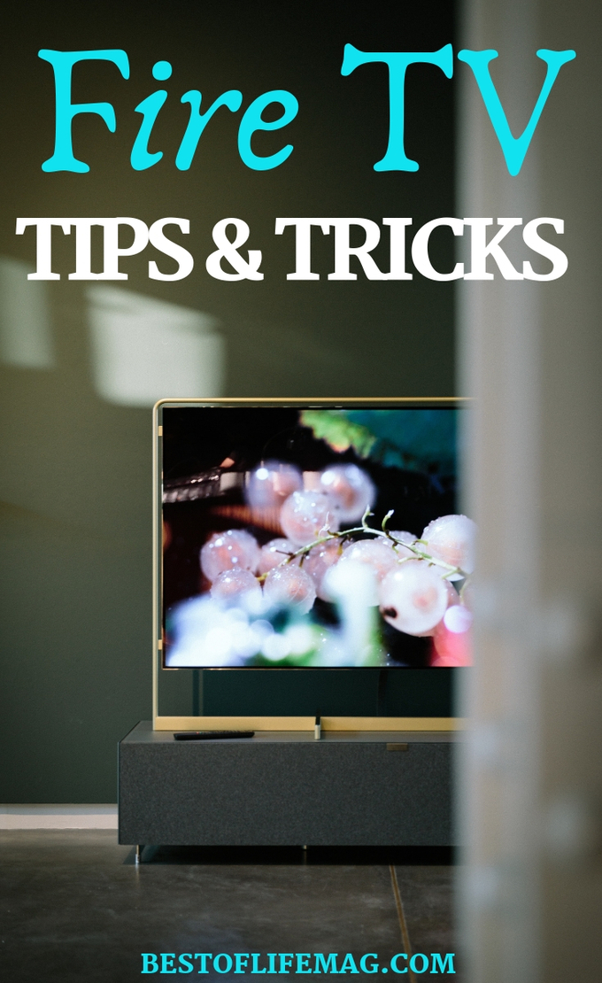 Make the most of your streaming experience with these easy and useful Amazon Fire TV tips and tricks. Fire TV Uses | How to Use a Fire TV | Movie Streaming Tips | Streaming TV Tips #streaming #amazon