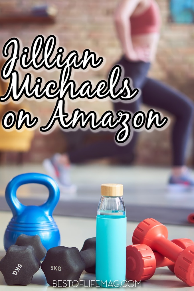 Jillian Michaels Amazon shopping links: The perfect place to get everything you need to live a happier, healthier, more fit life! Amazon Fitness Must Haves | Workout Gear on Amazon | Home Fitness Amazon | Amazon Fitness Clothes | Jillian Michaels Accessories | Fitness Things to Buy on Amazon #amazon #fitness via @amybarseghian