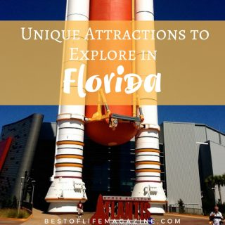 There are many attractions to explore in Florida that are equally fun compared to the theme parks but more historical and educational. Travel Ideas | Florida Travel Ideas | Things to do in Florida | What to do in Florida | Florida Activities