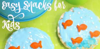 Easy snacks for kids help keep children happy and parents happier knowing that too much time isn't lost and their children are feeling great.