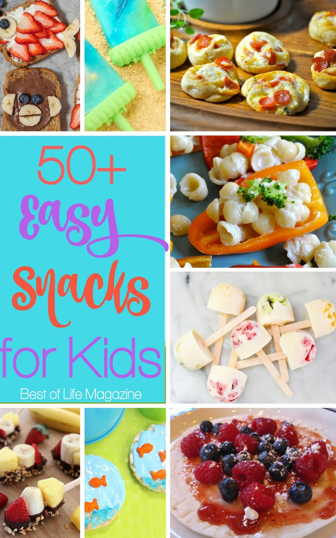 Easy snacks for kids help keep children happy and parents happier knowing that too much time isn't lost and their children are feeling great. Healthy Snacks | Healthy Recipes | Recipes for Kids | Snack Recipes | Parenting Tips #recipes