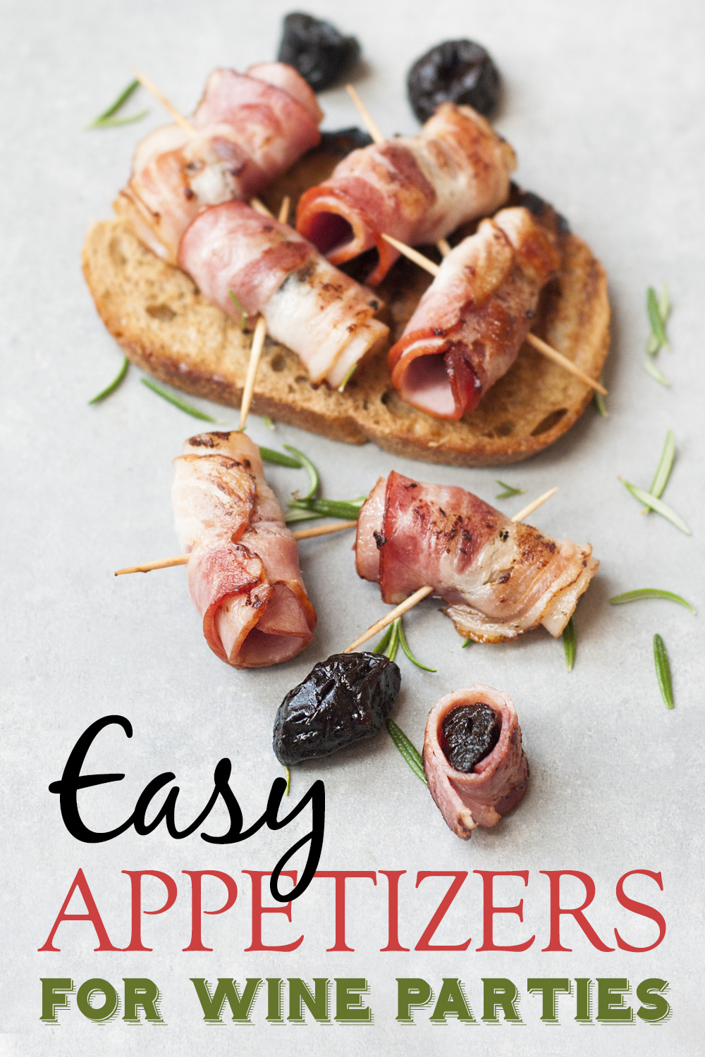 Use your knowledge of wine pairings to come up with some of the best easy appetizers for wine during your next party. Wine Parties | Easy Appetizers | Appetizer Recipes | Holiday Appetizers | Appetizers Recipes for Parties #parties #recipes via @amybarseghian