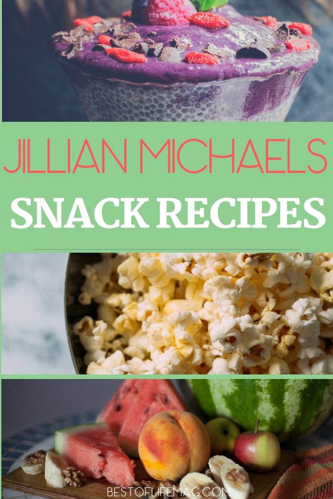 Use Jillian Michaels snacks recipes to get you through the day and your diet while staying on the right track to success. Jillian Michaels Snack Ideas | Healthy Snacks | Healthy Recipes | Snacks for Weight Loss | Weight Loss Snacking Tips | Snacks Healthy On The Go For Weight Loss | Clean Eating Snacks | Beachbody Snack Ideas #jillianmichaels #snacks via @amybarseghian