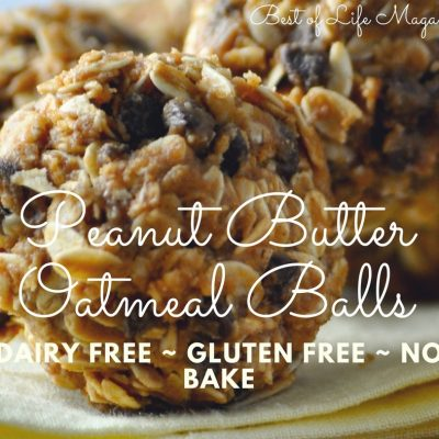 This no bake peanut butter oatmeal balls recipe is gluten free and dairy free making it the perfect healthy snack for an active lifestyle. No Bake Chocolate Oatmeal Balls   Oatmeal Energy Balls   Healthy Oatmeal Bites Recipe   Energy Balls with Oatmeal   Healthy Energy Balls Recipe