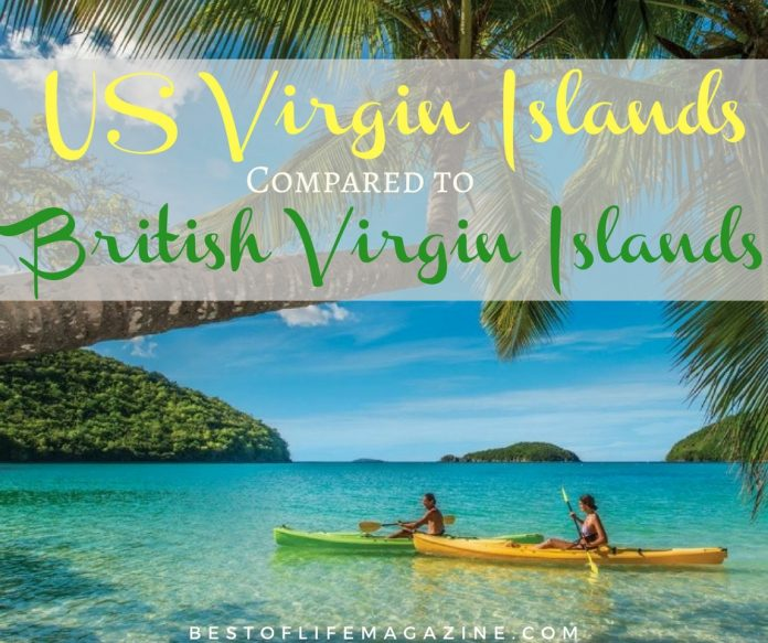 Putting the US Virgin Islands vs. the British Virgin Islands help you decide where you want your cruise to take you and how you'll experience island life.