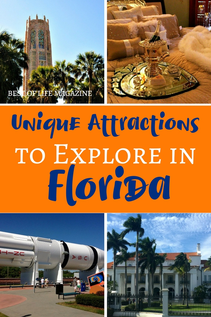 There are many attractions to explore in Florida that are equally fun compared to the theme parks but more historical and educational.