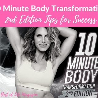 Jillian Michaels is back with her 10 Minute Body Transformation Second Edition workout and these tips will help you experience success along the way! Jillian Michaels Workout | At-Home Workouts | Fitness Routine Ideas | Health Tips | Weight Loss Tips
