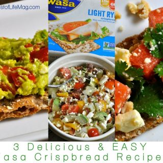 Wasa Crispbread recipes make for perfect snacks and appetizers! Our watermelon and feta salsa, BLT, and avocado spread recipes are delicious and satisfy kids and adults. Healthy Recipes | Healthy Snacks | Wasa Bread Snacks | Wasa Crispbread Snack Recipes