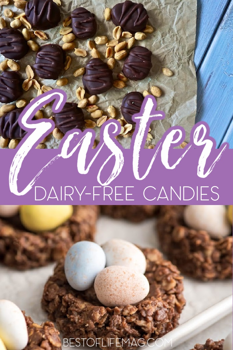 Why buy candy eggs filled with cream when you can make your very own dairy free Easter candy and enjoy sweets just like everyone else? Candy Recipes for Kids | Dairy Free Recipes | Holiday Recipes| Dessert Recipes | Healthy Easter Recipes | Dairy Free Easter Recipes | Homemade Easter Candy Ideas | Easter Basket Ideas for Kids | DIY Easter Candy #dairyfree #eastercandy via @amybarseghian