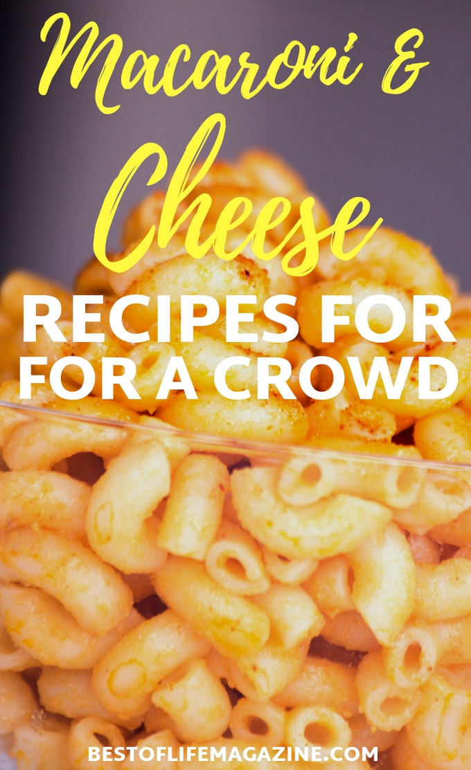 Macaroni and cheese recipes can transform a seemingly simple dish into a gourmet meal that you never thought you'd enjoy. Macaroni and Cheese Ideas | Mac and Cheese Ideas | Recipes for Kids | Recipes for Parties #recipes #party